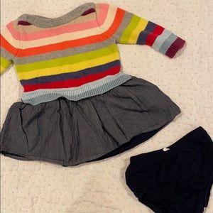 Baby Gap sweater dress 6-12 mo